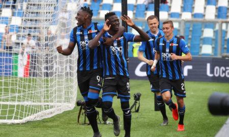 Atalanta-Sassuolo 26 maggio: squadre in campo per l'ultima giornata di Serie A. I nerazzurri sono ad un passo dalla Champions League.