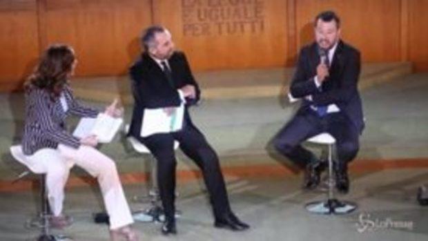 """Strage di Capaci, Salvini: """"Mafie sotto casa, chi ha paura e tace è complice"""""""