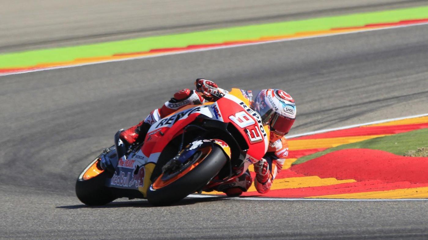 MotoGp Gp Thailandia qualifiche sabato 6 ottobre: Marquez in pole, Rossi secondo e staccato di appena 11 millesimi