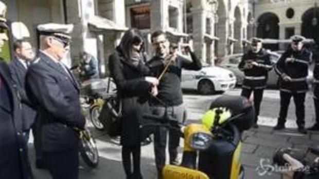 Torino, arrivano gli scooter elettrici per i vigili urbani