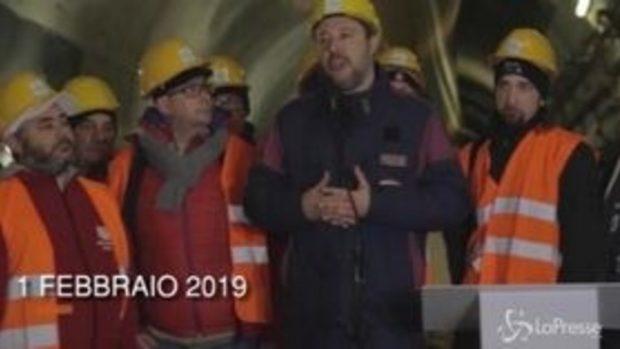 """Tutte le volte che Salvini ha promesso: """"Sì Tav"""""""