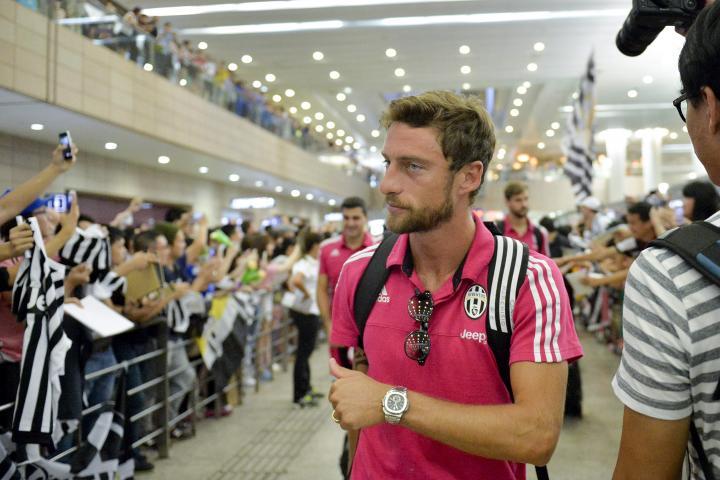 La Juventus arriva a Shanghai