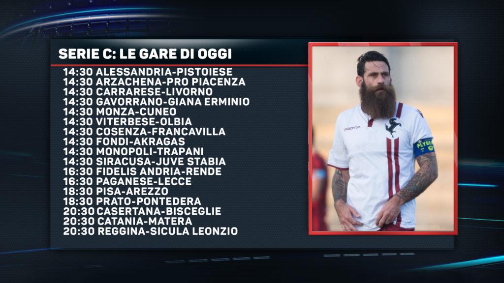 Serie C: il palinsesto delle gare di domenica 10 dicembre