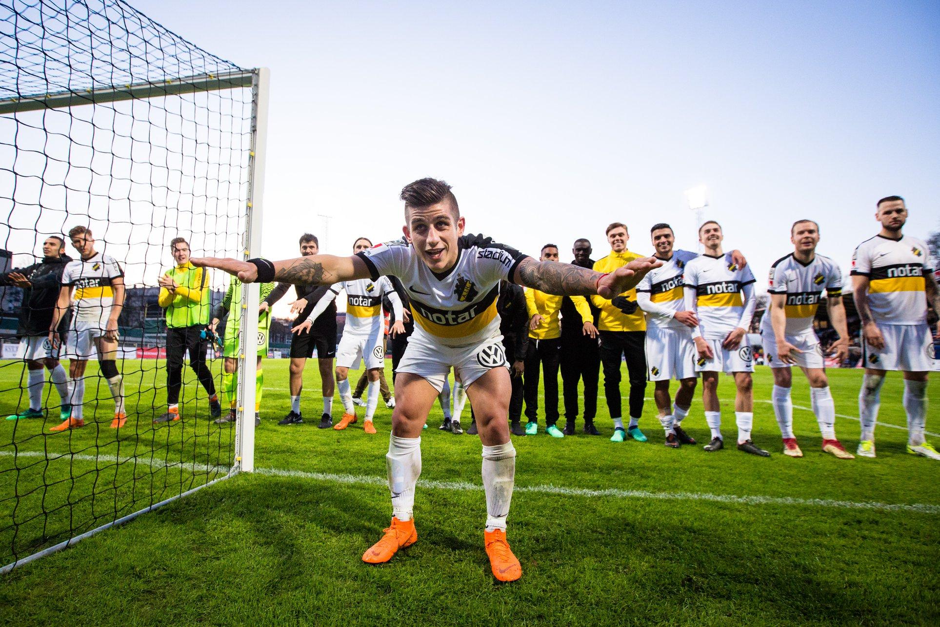 Svezia Allsvenskan venerdì 19 aprile