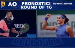 Tennis Australian Open 2018 Ottavi di Finale