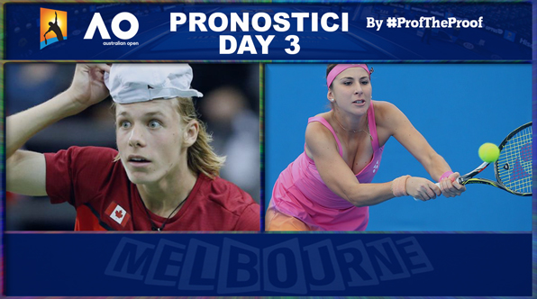 Tennis Australian Open 2018 Day 3