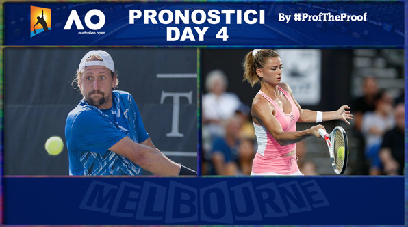 Tennis Australian Open 2018 Day 4