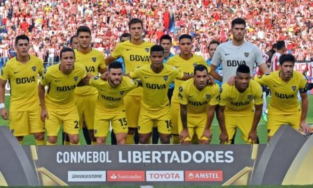 Palmeiras-Boca Juniors mercoledì 31 ottobre