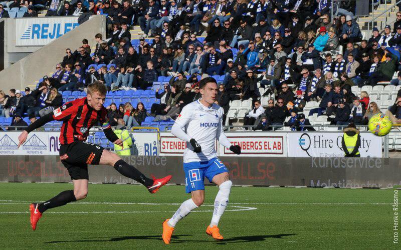 Brommapojkarna-AFC Eskilstuna 25 novembre: si gioca il ritorno dello spareggio di Allsvenskan. All'andata, locali vittoriosi.