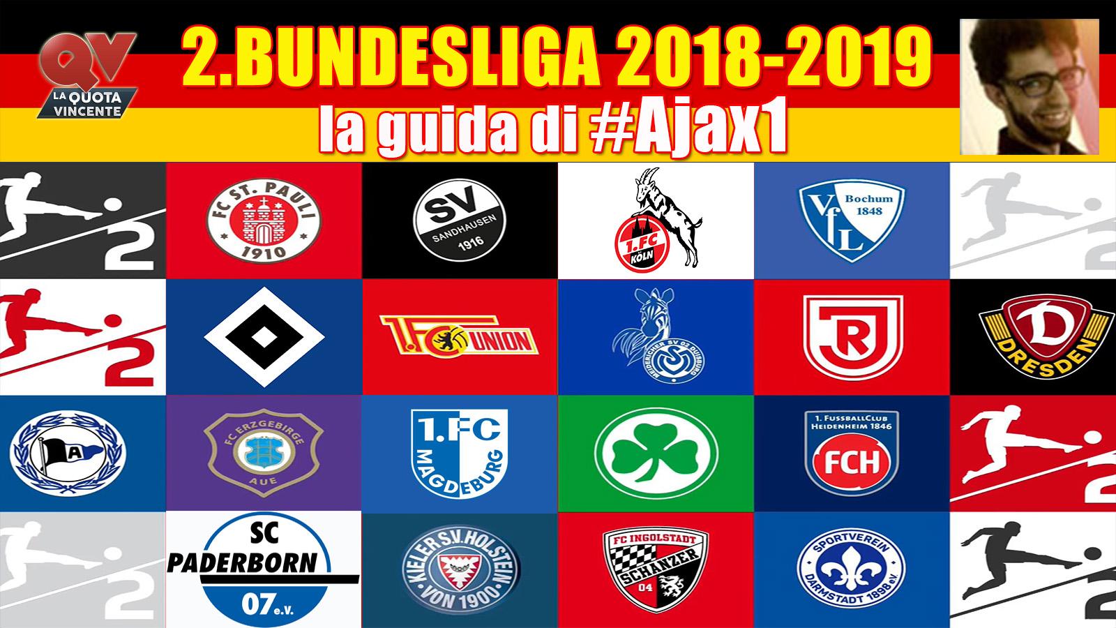 2.Bundesliga 2018-2019 guida