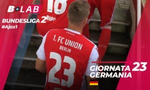 Germania Bundesliga 2 Giornata 23: analisi e pronostici di #Ajax1