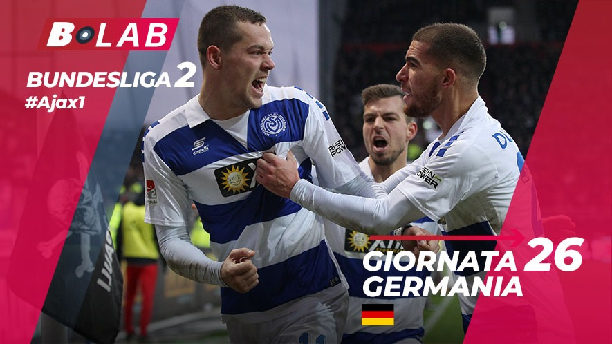 Bundesliga 2 Giornata 26