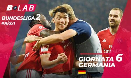Germania Bundesliga 2 Giornata 6