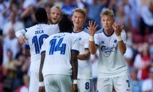 Superliga Danimarca 23 settembre: si giocano 4 gare della decima giornata del campionato danese. Copenhagen in testa a quota 19 punti.