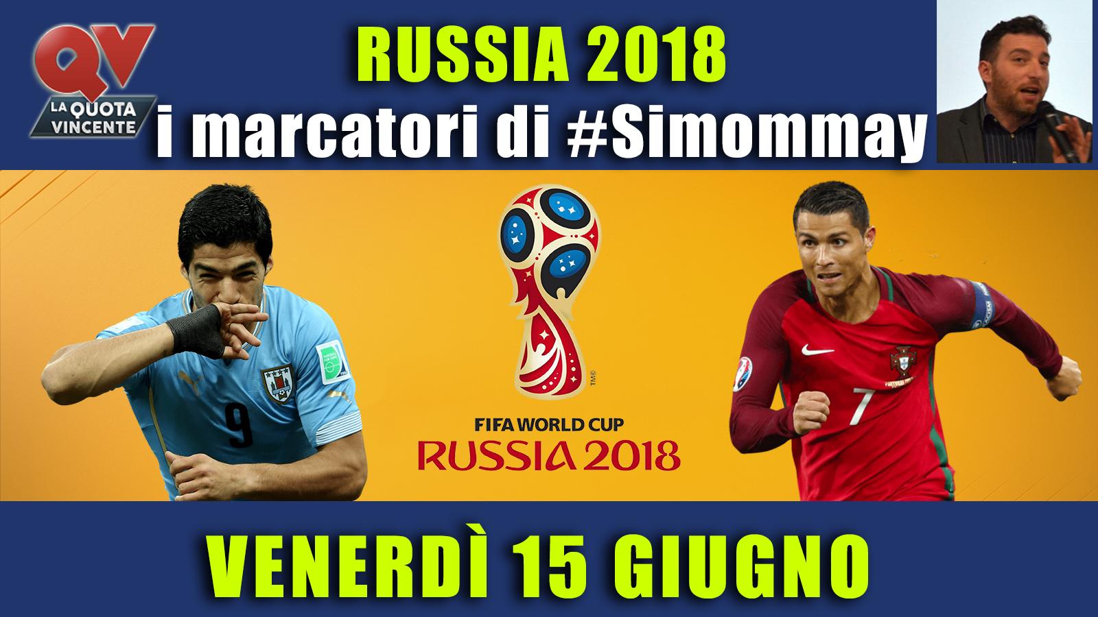 Pronostici marcatori Mondiali 15 giugno: le scelte di #Simommay