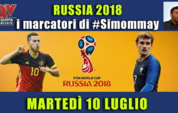 Pronostici marcatori Mondiali 10 luglio: i marcatori di #simommay