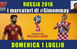 Pronostici marcatori Mondiali 1 luglio: i marcatori di #simommay