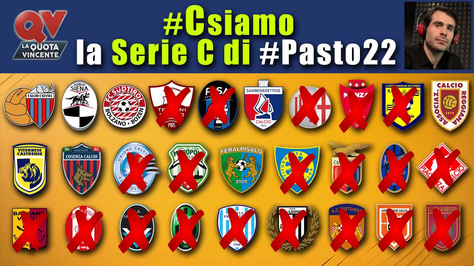 Pronostici Serie C 3 giugno: #Csiamo, il blog di #Pasto22 speciale playoff