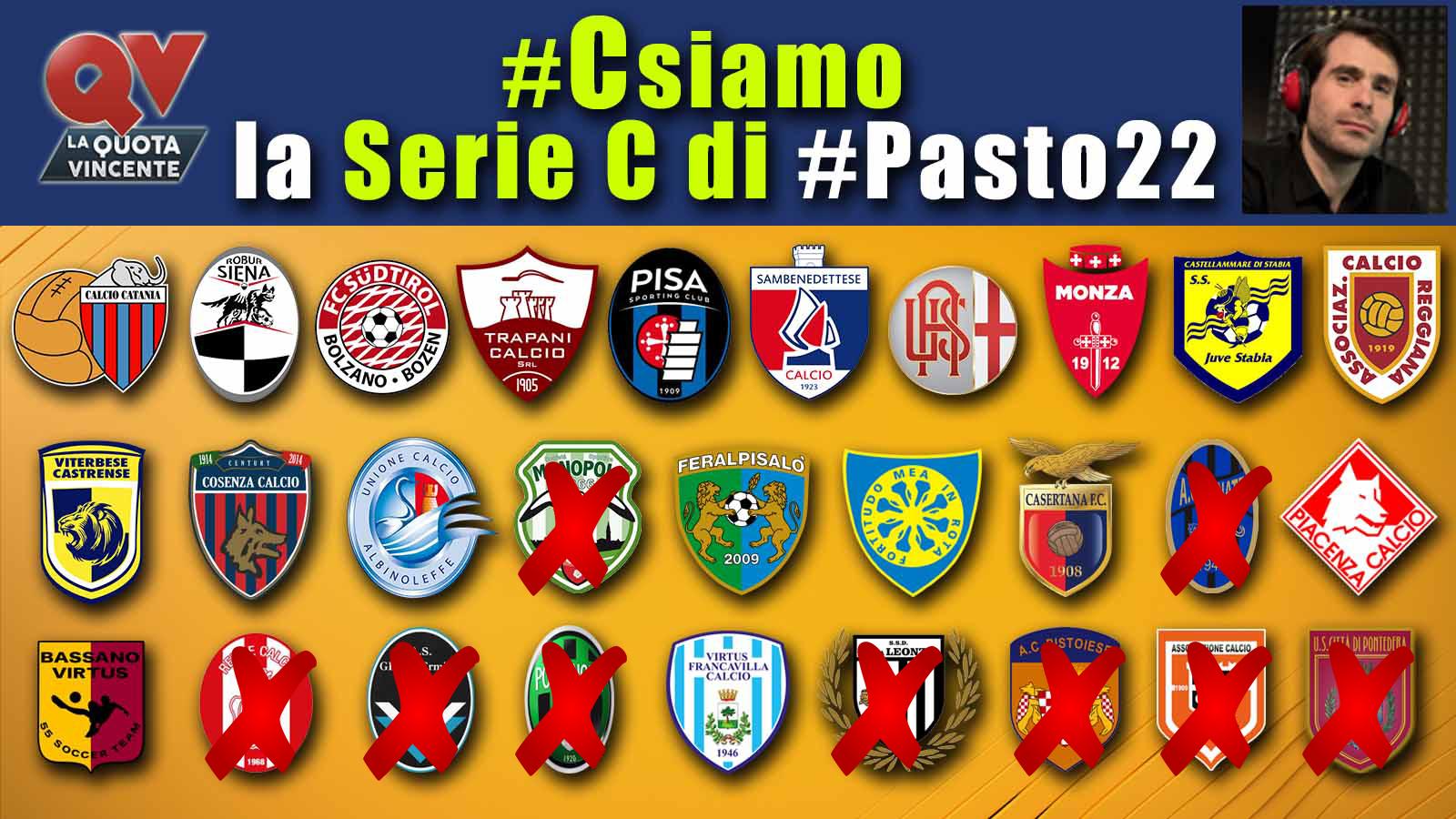 Pronostici Serie C martedì 15 maggio: #Csiamo, il blog di #Pasto22 speciale playoff