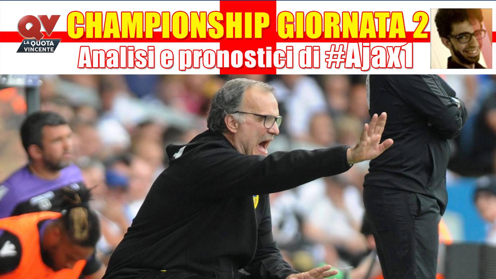 Championship Giornata 2