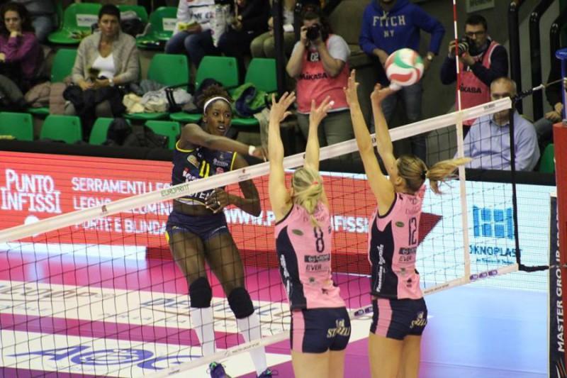 Serie A1 Volley femminile domenica 3 dicembre