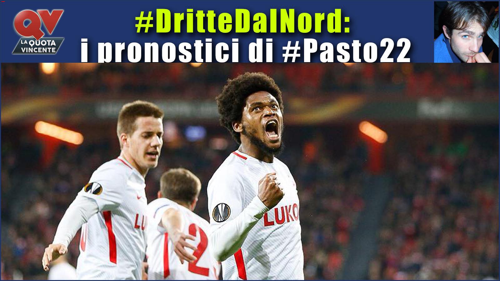 Pronostici Dritte dal Nord 2-5 marzo: le dritte di #Pasto22 tra Russia e Danimarca