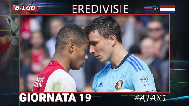 Pronostici Eredivisie giornata 19: tutte le quote e le bollette di #OlanDaOver il blog di #Ajax1!