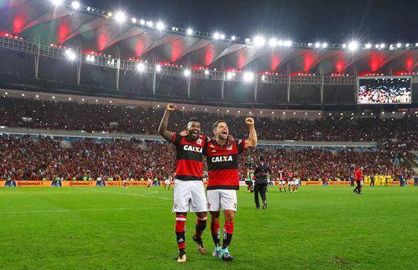 Flamengo-Parana domenica 10 giugno