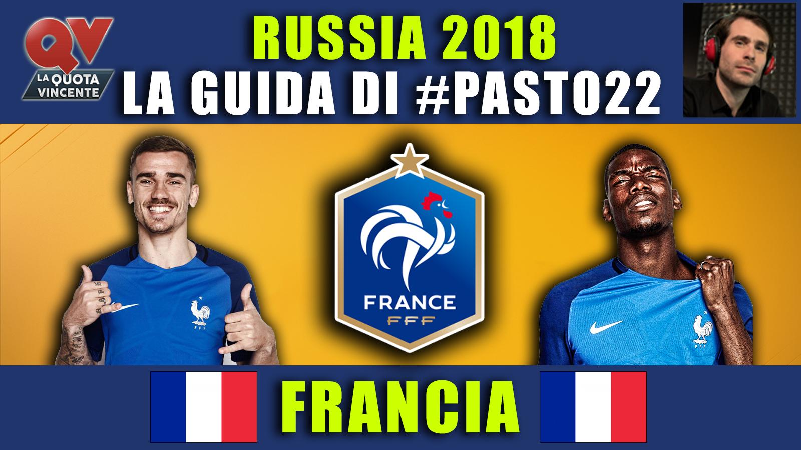 Guida Mondiali Russia 2018 Francia