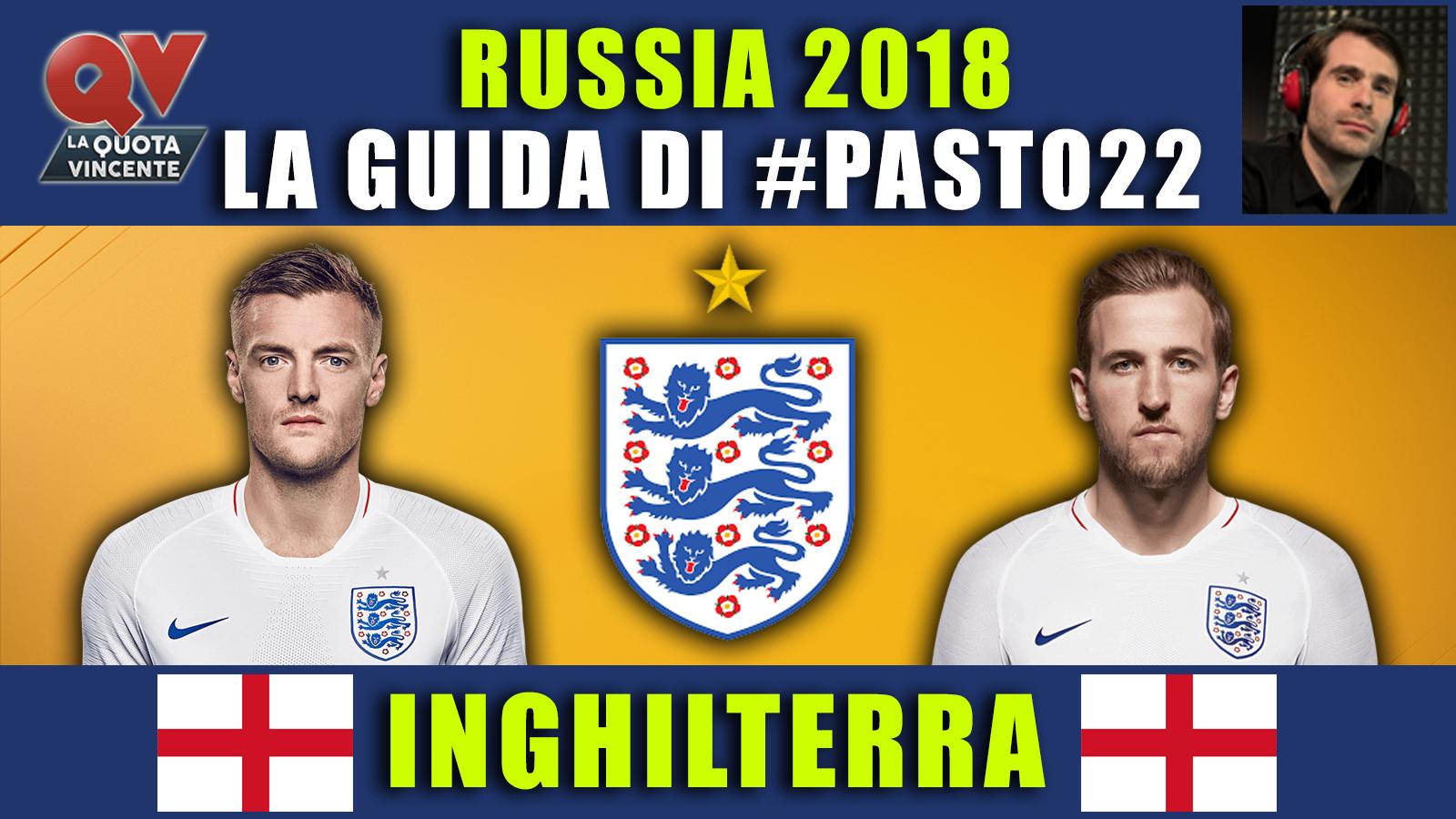 Guida Mondiali Russia 2018 Inghilterra