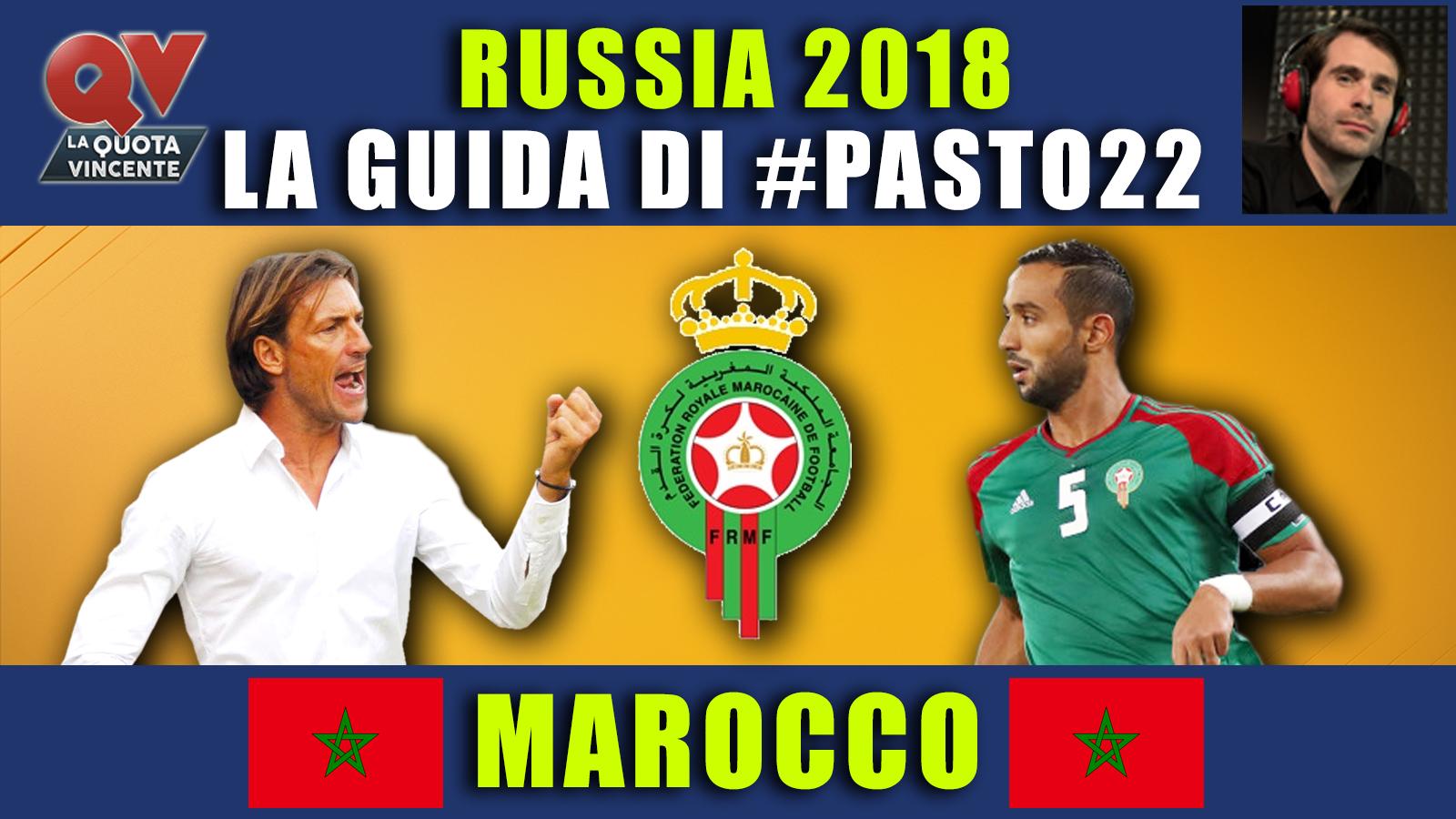 Guida Mondiali Russia 2018 Marocco