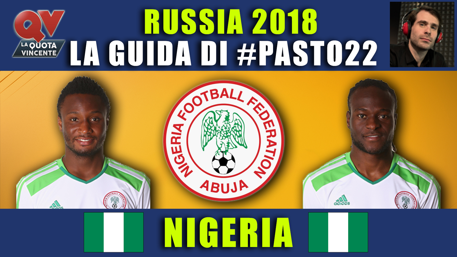 Guida Mondiali Russia 2018 Nigeria