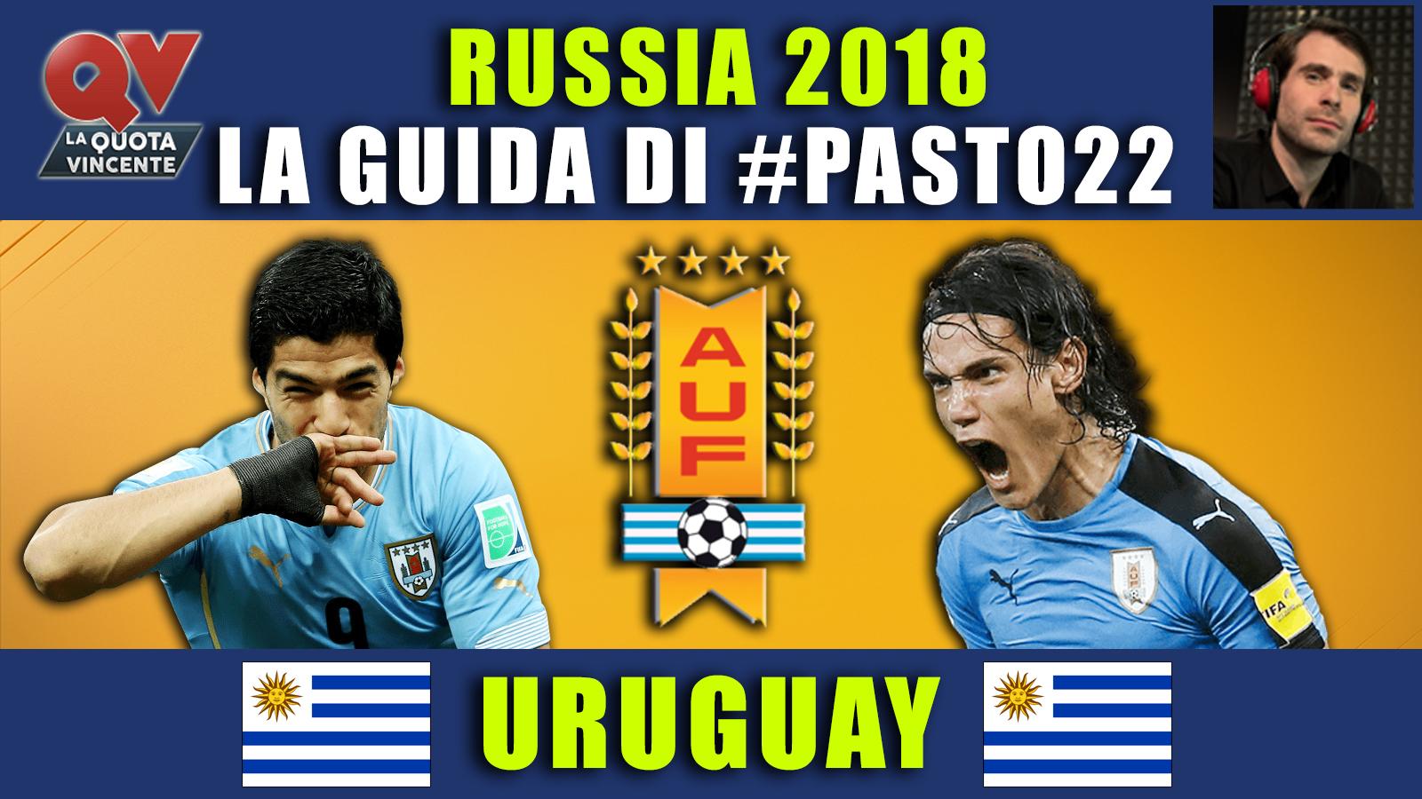 Guida Mondiali Russia 2018 Uruguay: convocati, quote calendario, news!