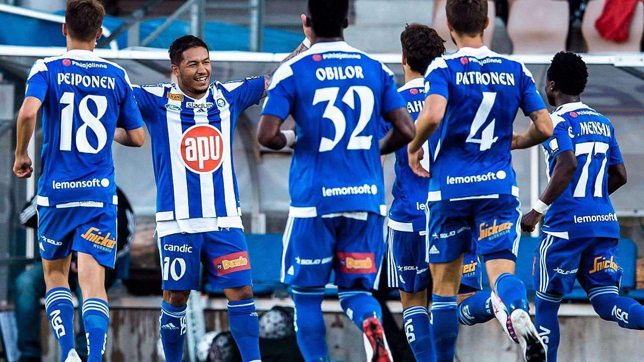 Veikkausliiga sabato 27 ottobre. In Finlandia 33ma giornata della Veikkausliiga, con HJK primo e già Campione con 75 punti