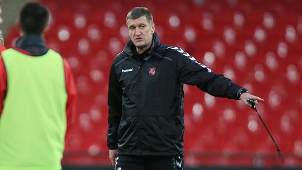 Igoris _pankratjevas_allenatore_lituania_calcio_amichevole_europei_2016_qualificazioni