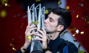 Tennis Djokovic numeri da CAPOgiro