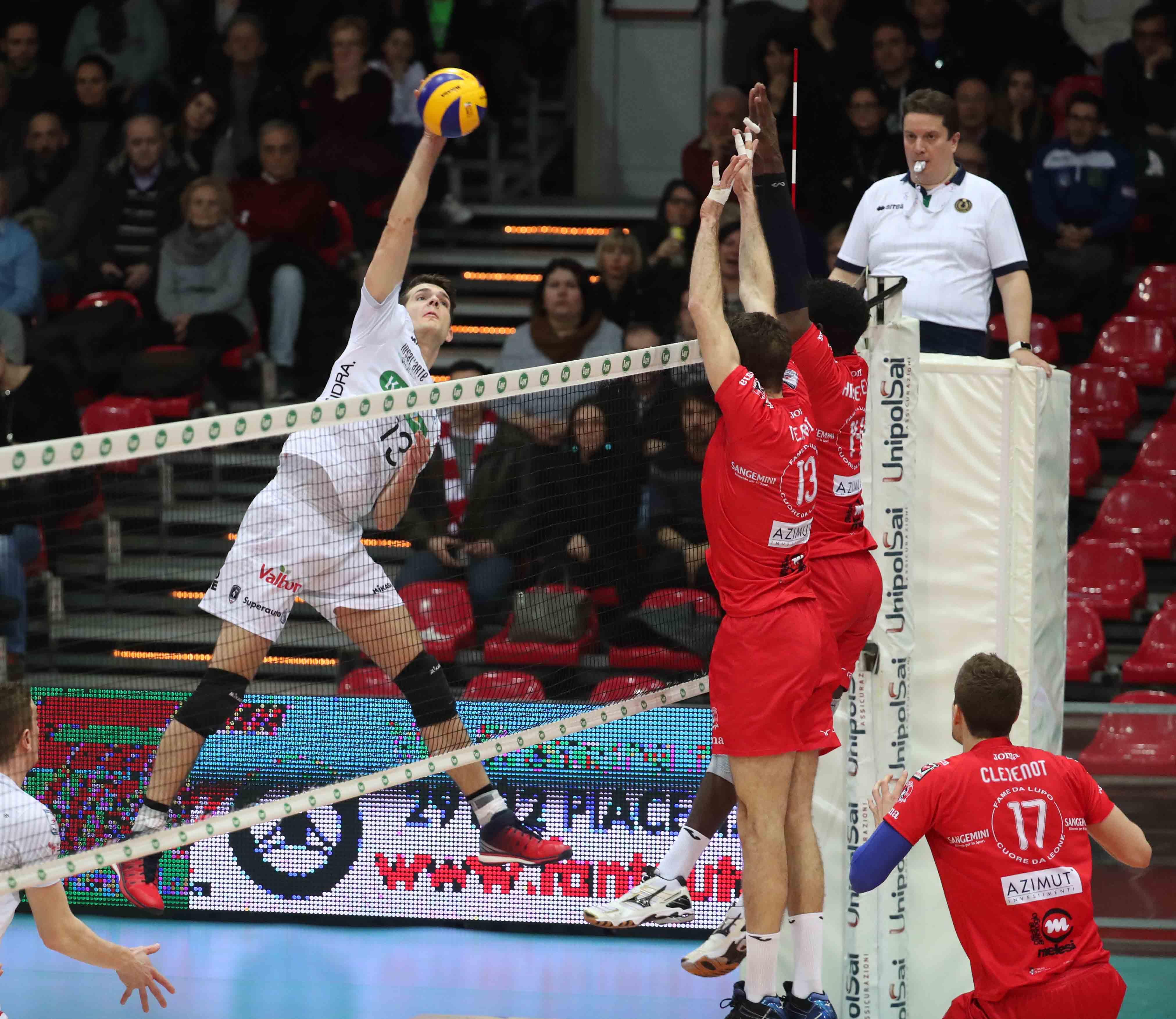 Superlega Volley sabato 2 dicembre