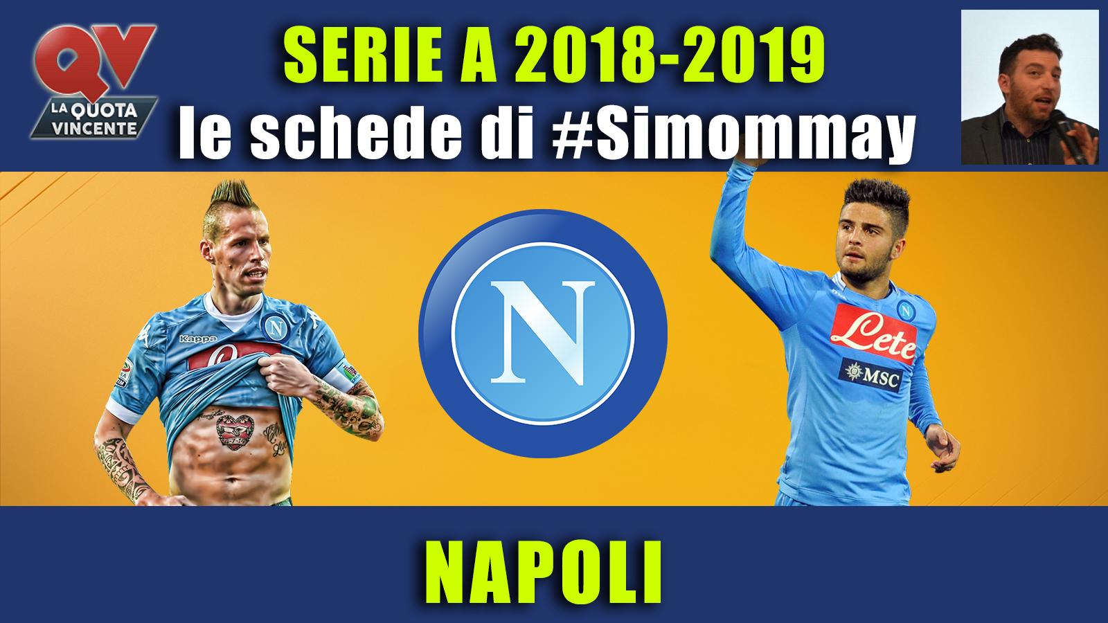 Guida Serie A 2018-2019 NAPOLI: il ciuccio vuole sognare in grande