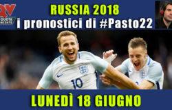 Pronostici Mondiali 18 giugno