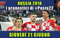 Pronostici Mondiali 21 giugno