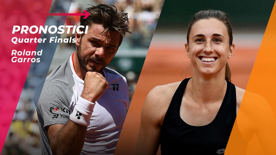 Tennis RG19 Quarti di Finale
