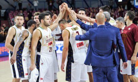 Serie A Basket domenica 18 novembre