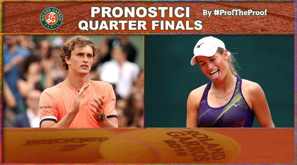Tennis Roland Garros 2018 Quarter Finals