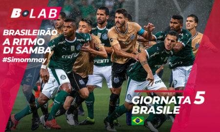 Pronostici Brasileirao domenica 19 maggio: le tre di San Paolo in testa