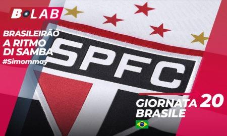 Pronostici Brasile mercoledì 22 agosto: prove di fuga per il Sao Paulo