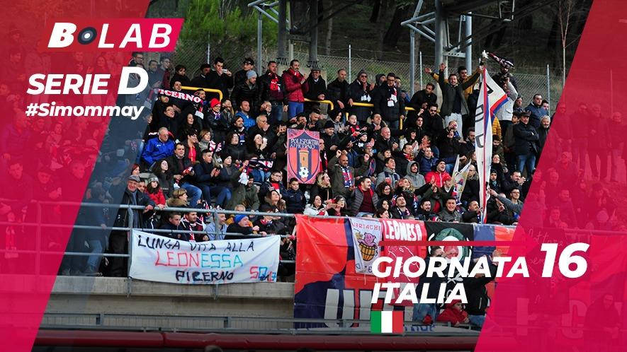 Pronostici Serie D domenica 16 dicembre: una giornata al giro di boa!