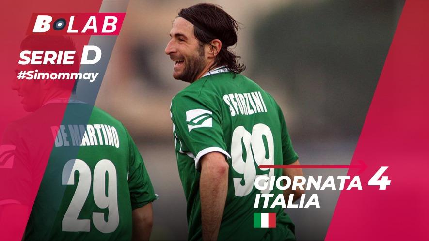 Pronostici Serie D domenica 7 ottobre: una quarta giornata di partitissime