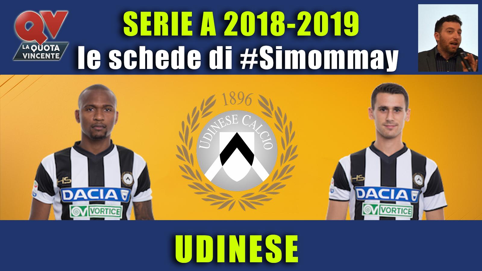 Guida Serie A 2018-2019 UDINESE: la scommessa viene dalla Spagna