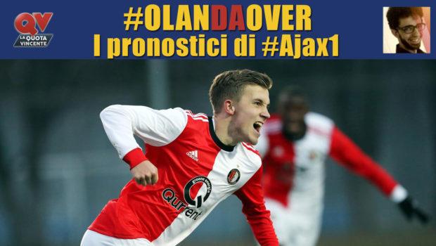 Pronostici Eredivisie giornata 12: tutte le quote e le bollette di #OlanDaOver il blog di #Ajax1!