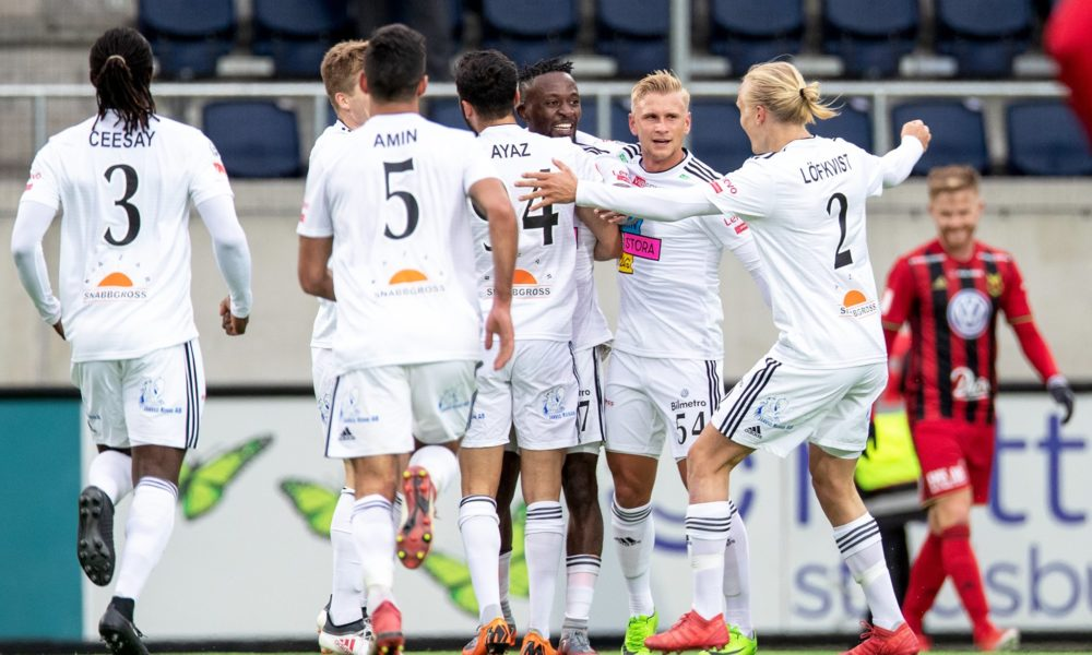 Allsvenskan lunedì 5 novembre. In Svezia 29ma giornata dell'Allsvenskan, massimo torneo. AIK Stoccolma primo a quota 63, +4 sul Norrkoping